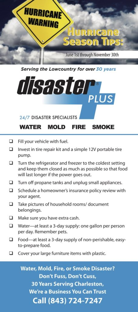 Disaster Plus Hurricane Tips Checklist