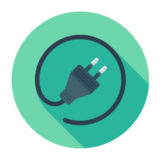 stock-illustration-43706200-flat-plug-icon