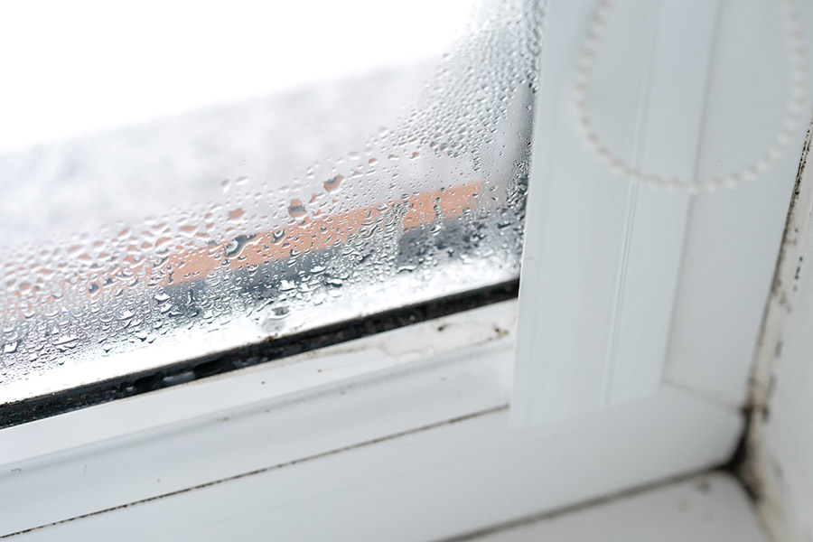 Moisture Build Up In Window Forming Mold